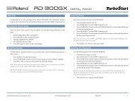 Roland RD-300GX TurboStart