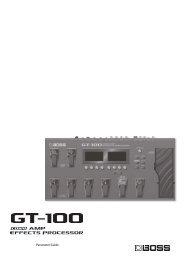 GT-100_Parameters.pdf - Roland