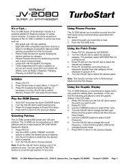JV-2080 TurboStart (PDF)