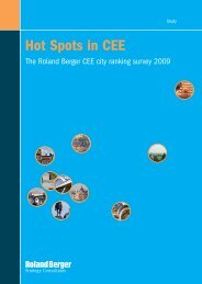 Hot Spots in CEE - Roland Berger