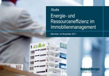 Energie- und Ressourceneffizienz im ... - Roland Berger