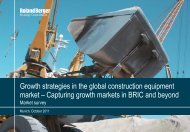 Growth strategies in the global construction ... - Roland Berger