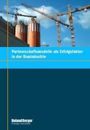 Partnerschaftsmodelle als Erfolgsfaktor in der ... - Roland Berger