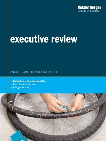 executive review - Roland Berger