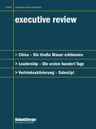 Executive review (4/2004) - Roland Berger
