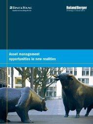Asset management opportunities in new realities - Roland Berger
