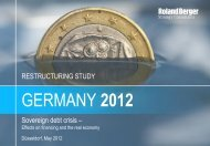 Germany 2012 - Restructuring study (PDF, 2512 KB) - Roland Berger