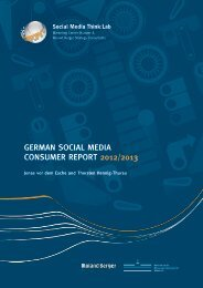 German Social Media Consumer Report 2012/2013 - Roland Berger