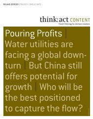 Pouring Profits | Water utilities are facing a global down ... - MemoFin.fr