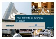 Your partners for business in India ! (PDF, 871 KB) - Roland Berger