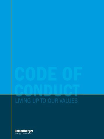 Our Code of Conduct (PDF, 81 KB) - Roland Berger