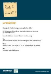 AUF EINEN BLICK - Roland Berger Strategy Consultants
