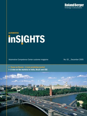 Automotive inSIGHTS 2/2005 - Roland Berger