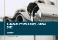 European Private Equity Outlook 2012 (PDF, 1293 ... - Roland Berger