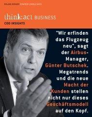 COO Insights zum Thema Geschäftsmodelle - Roland Berger