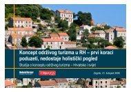 A. Održivi turizam - Roland Berger