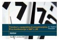 Trendovi u spajanjima & preuzimanjima Prva ... - Roland Berger