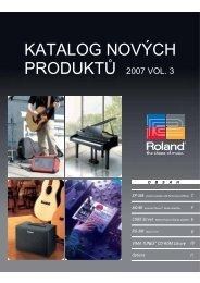 katalogu novinek (v českém jazyce) - Roland