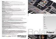 E-80 E-60 E-50 E-09 EXR-5S EXR-40 OR G-70 Version 2 - Roland ...