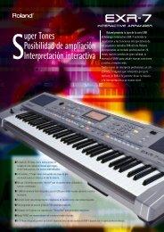 EXR-7 Broch_Sp.qxd - Roland Keyboard Club
