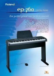 ep-760 Broch.NL - Roland Keyboard Club