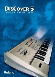 English catalog - Roland Keyboard Club