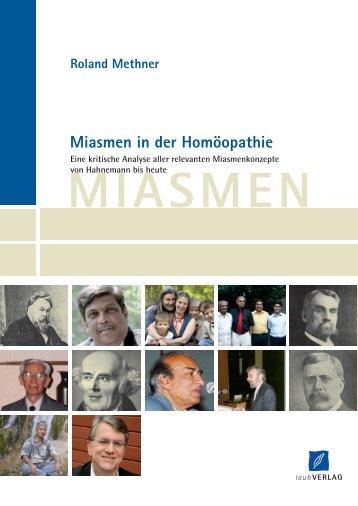 Miasmen in der Homöopathie - Roland Methner