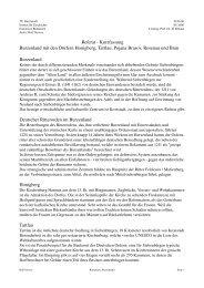 Referat Kurzfassung Burzenland mit den Dörfern ... - Rolf Sievers