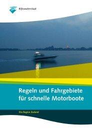 Regeln und Fahrgebiete für schnelle Motorboote - Yachtschule Rolf ...