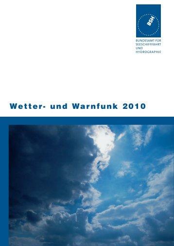 Wetter- und Warnfunk 2010 - Yachtschule Rolf Dreyer