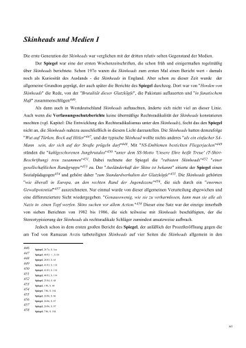 Skinheads und Medien I [pdf, 27 KB, ] - Rolf Schwarz.com