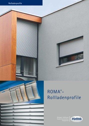 ROMA Rollladenprofile - Schmitz-Nettersheim
