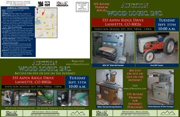 555 Aspen Ridge Drive - Roller Auctioneers
