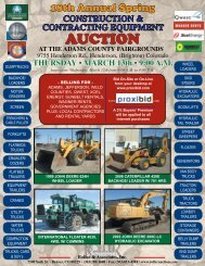 construction & contracting equipment - Roller Auctioneers