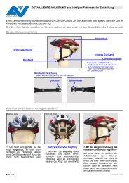 Helmeinstellung - Initiative Sichere Gemeinden