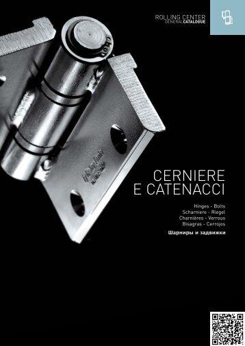 CERNIERE E CATENACCI - Rolling Center