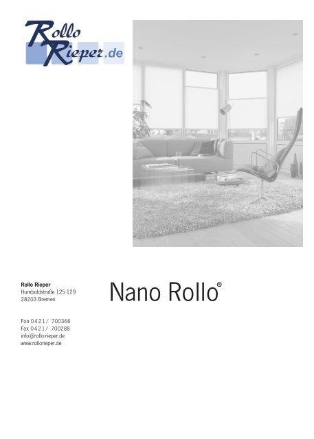Nano Rollo - Rollo Rieper