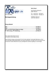 Cosiflor VS 2 - Rollo Rieper