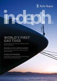 WORLD'S FIRST GAS TUGS - Rolls-Royce