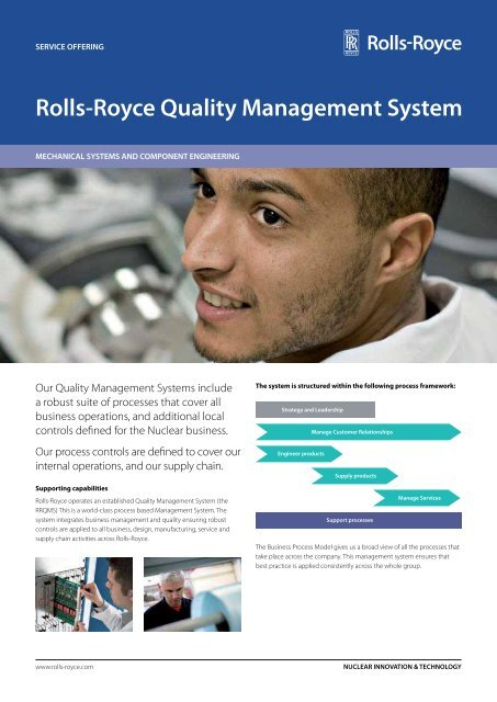 Rolls-Royce Quality Management System