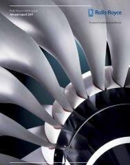 Company financial statements - Rolls-Royce