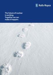 nuclear brochure - Rolls-Royce
