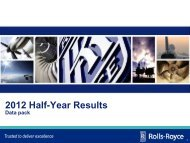 Trusted to deliver excellence - Rolls-Royce