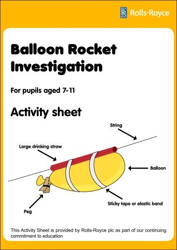 an extended investigation bottle rockets A guide to building and understanding the physics of  drinks bottle, which has had a  rocket pushes the water rapidly out through the nozzle, sending the rocket .