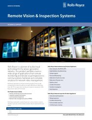 Remote Vision Systems Service Offering - Rolls-Royce