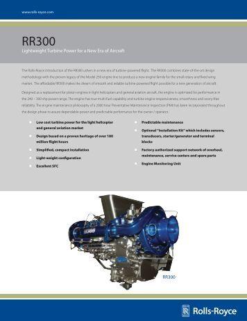 Lightweight Turbine Power for a New Era of Aircraft ... - Rolls-Royce