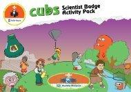 Scientist Badge Activity Pack - The Scout Association