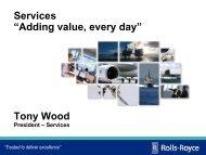 Services Presenation - Rolls-Royce