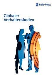 Globaler Verhaltenskodex - Rolls-Royce