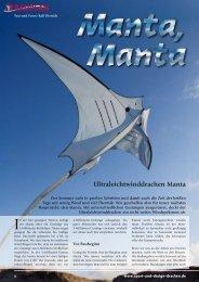 Manta UL - Dietrichs